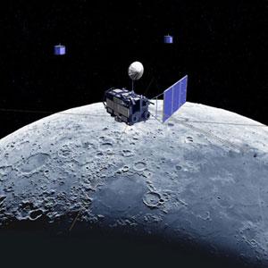 На Луне маловато мусора