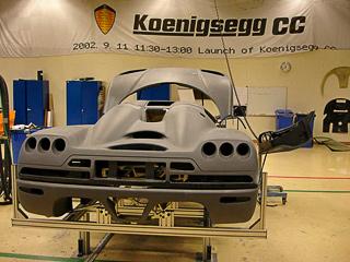 Компания Koenigsegg договорилась о покупке Сааба