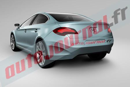 Peugeot 408. Новые фото