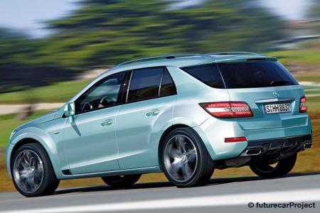 Новый Mercedes ML. Первые фото