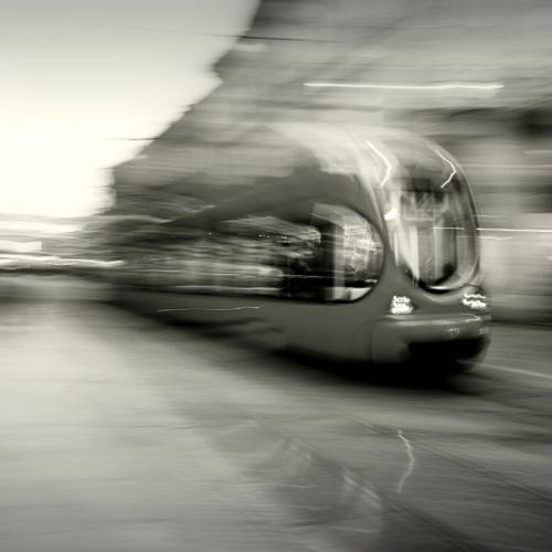Art - black and white square photos