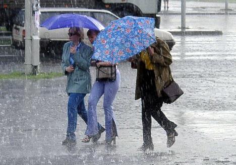 Этот июнь в Беларуси стал самым дождливым за сто лет