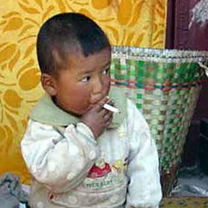 Самый юный курильщик