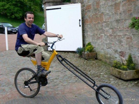 Велосипед продлевает жизнь!