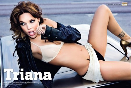 Triana Iglesias Topless in FHM