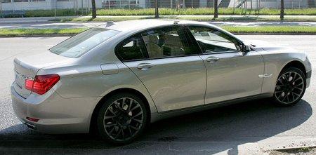 Первые фото нового BMW M7