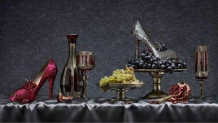 Натюрморты с обувью Christian Louboutin