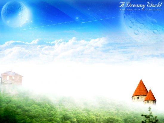 A Dreamy World (обои)