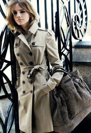 Эмма Уотсон рекламирует Burberry