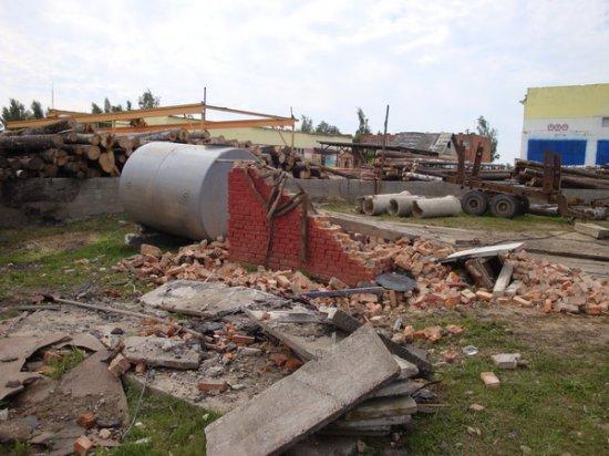 Последствия смерча в Гомельской области