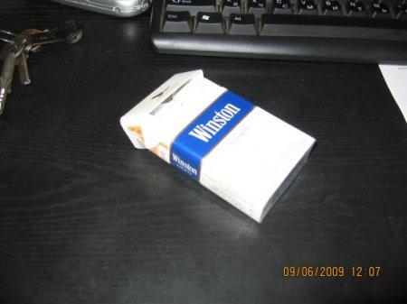 Истребитель из сигаретной пачки