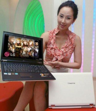 Элегантные ноутбуки LG серии Xnote R580 для киноманов