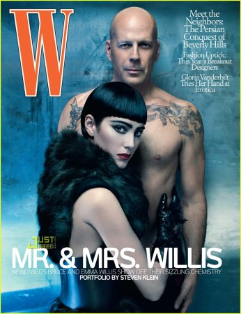 Bruce Willis Covers 'W Magazine' July 2009