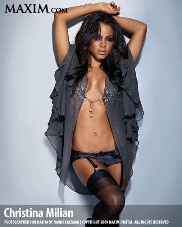 Christina Milian Maxim Magazine Pictures
