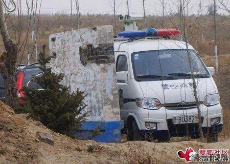 WALL-E на службе у китайской полиции?