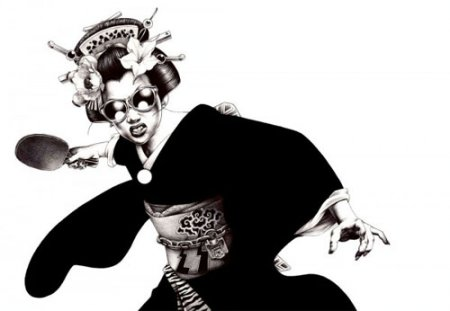 Жесткая манга Hakuchi