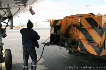 Канализация в самолете