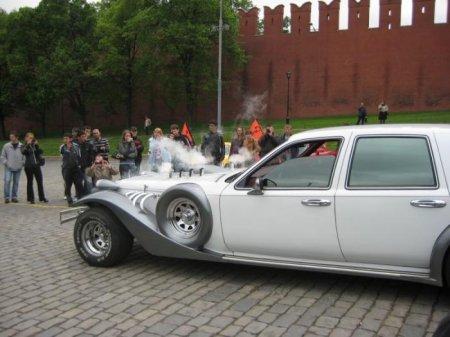 Огненная колесница на красной площади