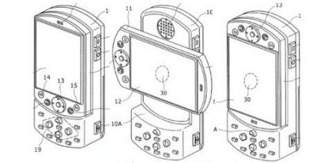 В телефон вмонтируют PlayStation