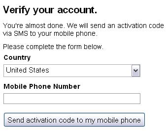 Введена sms-верификация аккаунта Google при регистрации