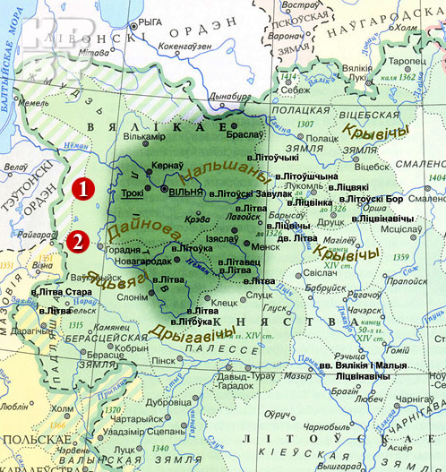 Сусанин водил в болота белорусов?