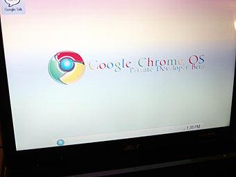 � ���� ��������� ������ ��������� Google Chrome OS