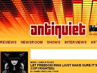Распространивший песни Guns N'Roses блогер получил год условно