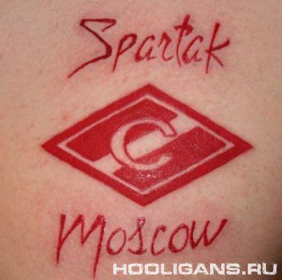 Татуировки Футбольных Хулиганов : «Спартак Москва»