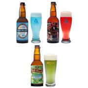 Японцы начали продавать голубое пиво