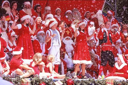 Конгресс Санта-Клаусов и Дедов Морозов в Копенгагене