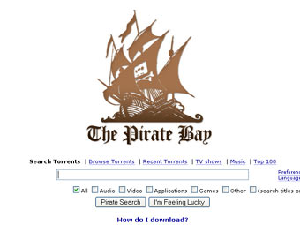 Голливудские кинокомпании подали новый иск против Pirate Bay