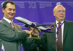 'Аэрофлот' сбрасывает старую кожу и переходит на западные самолеты