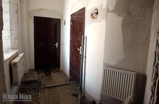 Как идёт реконструкция Радивилловского дворца в Несвиже