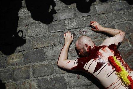 Кровавый протест