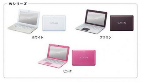 Sony представила свой первый нетбук