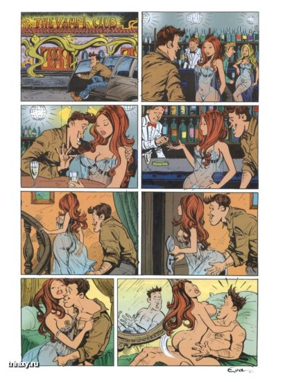 Эротические комиксы. Том второй
