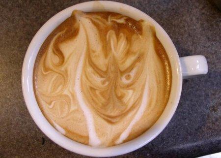 Рисунки из кофе