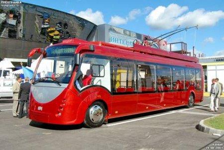 Новый белорусских троллейбус: DVD-проигрыватель, кондиционер, может ездить без электричества