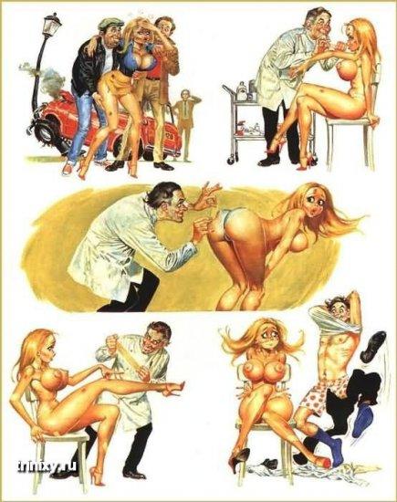 Эротические комиксы. Том шестой
