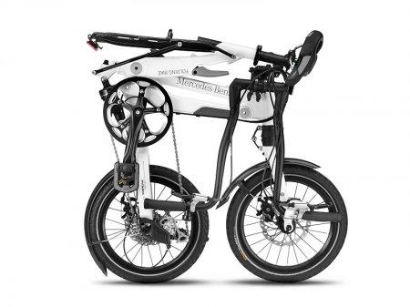 В Мерседесе сложили велосипедную раму