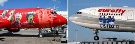 Рисунки на самолетах