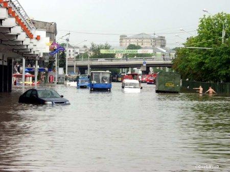Сегодня Минск опять может затопить