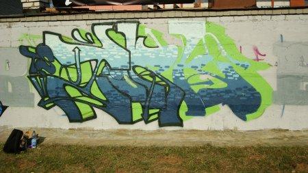 """Международный граффити-Фестиваль """"Street Instinct"""" 18-19 июля 2009 г"""
