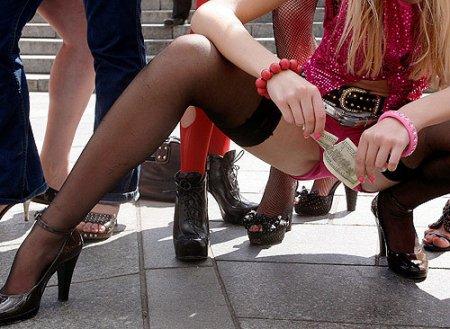 Акция протеста против секс-туризма на Украине