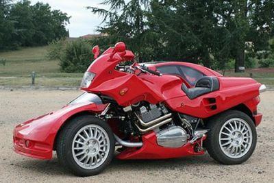 Когда голова рукам покоя не дает: необычный мотоцикл