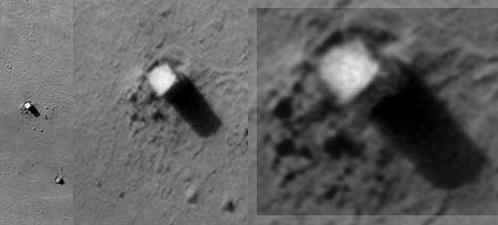 На Марсе обнаружен загадочный монолит