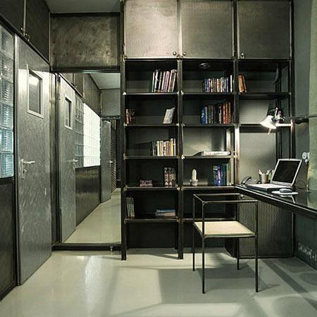 Квартира с металлическим покрытием