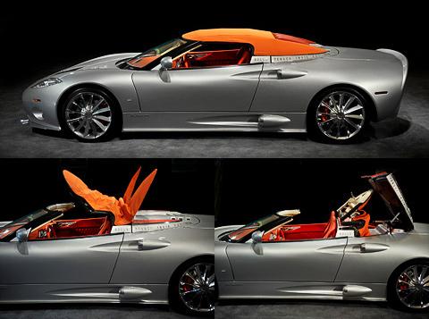 Голландская фирма Spyker разродилась новым родстером