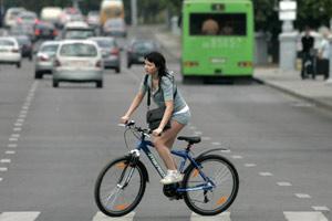 ГАИ охотится на велосипедистов — 700 штрафов в месяц