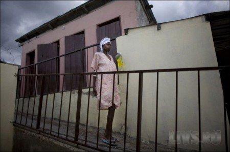 Как рожают на Гаити